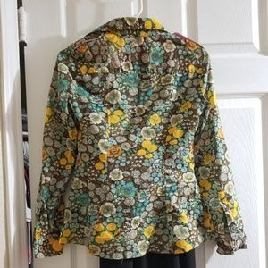 Tracy Feith Tops - Vintage Tracy Feith floral button up